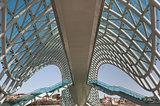 modern bridge - Georgia