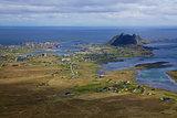 Island of Vaeroy in Norway