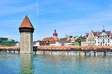 Lucerne, Chapel Bridge