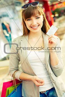 Cashless shopping