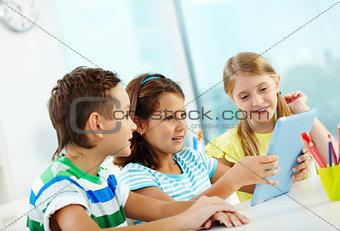 Modern schoolwork