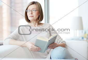 Reader at home