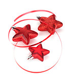 Christmas star shaped decoration