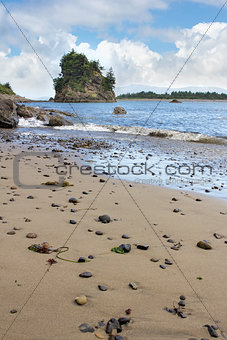 Beach at Garibaldi Oregon