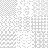 seamless white pattern