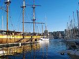 Vieux port de Marseille, France