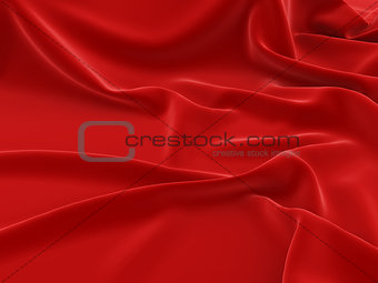 Ð¡overed with a red cloth background