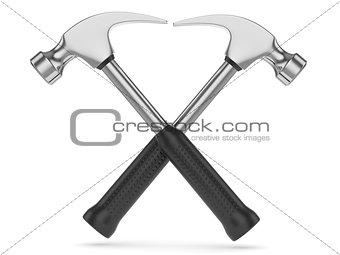 Crossed hammers