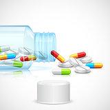 Medicine Capsule Bottle