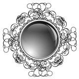 Glossy Round Frame