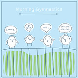 morning gymnastics