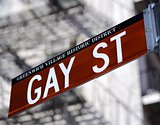 Gay St in New York Cityy