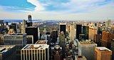 Uptown Manhattan Skyline