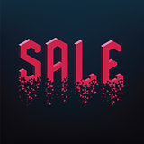 geometric sale text