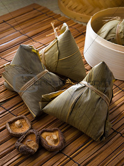 bazhang chinese dumplings, zongzi usually taken during duanwu fe