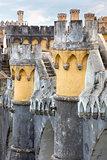 Palácio da Pena / Sintra, Lisbon / Portugal /  Detail