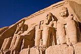 Stone statues in Egypt