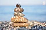 Zen dark stones
