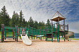 Childrens Playground at Lake Merwin Park