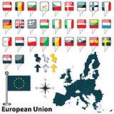 European Union with Croatia