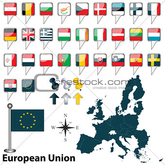 European Union with Croatia