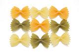 Farfalle tricolore pasta