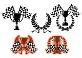 Sports emblems and symbols
