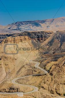 kings way desert road dead sea jordan