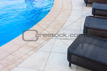 Swimming pool detail