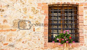 Tuscan window