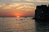 Sunset in Rovinj
