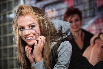 Beautiful Smiling Teen