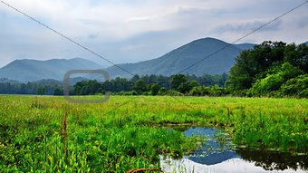 Cades Cove in the Smoky Mountains
