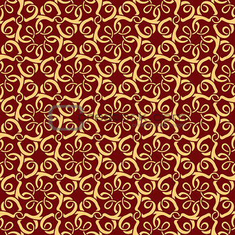 Red seamless pattern