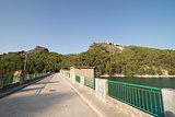 Guadalest reservoir dam