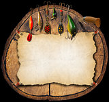 Fishing Tackle Background - Trunk