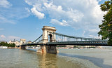 Chain Bridge is a symbol to Budapest