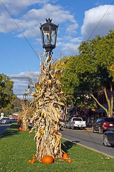 Autumn Street Scene