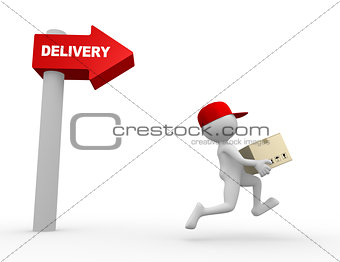 Postman, delivery.