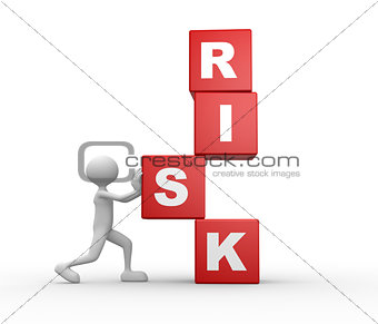 Cubes and word RISK
