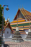 Lamp and stupas, Wat Po