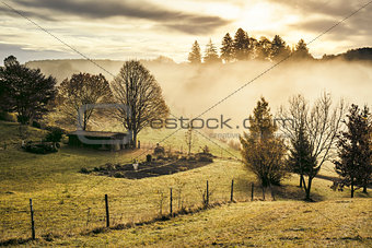 autumn scenery bavaria