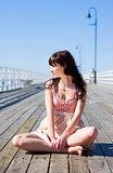 Pretty Pier Woman