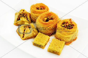 Assortment of baklava