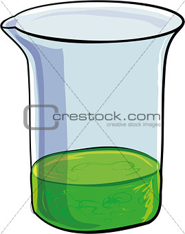 Beaker of evil green sludge