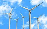 green power source (wind turbines)