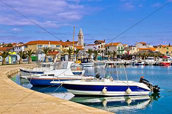 Town of Pakostane in Dalmatia