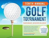 Golf Tournament Invitation Design