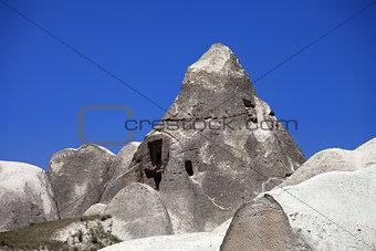 Cave house in Cappadocia.