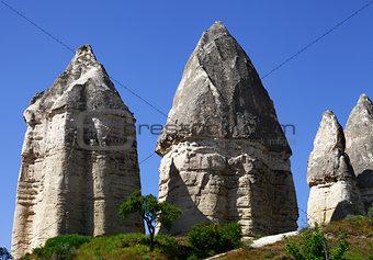 Fairy chimneys rock formations